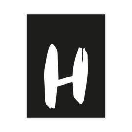 Letterslinger - letter H