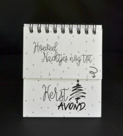 Aftelkalender tot kerstavond