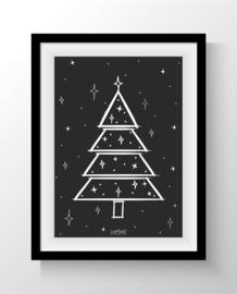 Kerstboom zwart