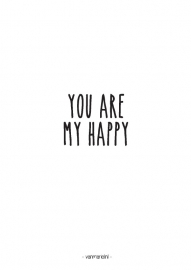 A6 | You are my happy
