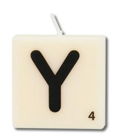 Letterkaars - Y