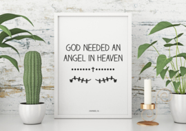 A6 | God needed an angel in heaven