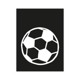 Letterslinger - symbool voetbal