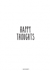 A6 | Happy thoughts