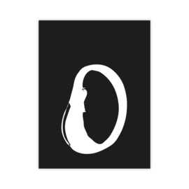 Letterslinger - letter O