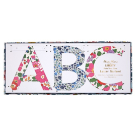 "Word banner ""floral"""