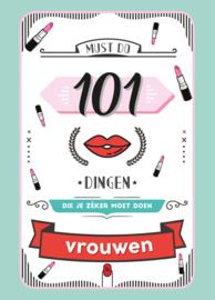 101 dingen die je moet doen (vrouwen)