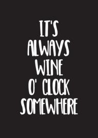 A6 | wine o'clock