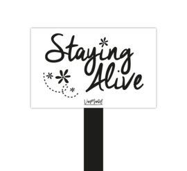 Plantensteker | Staying alive