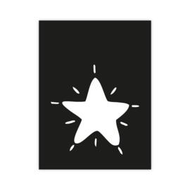 Letterslinger - symbool ster