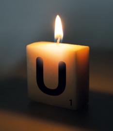 Letterkaars - U