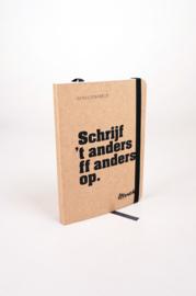 Mwah - Notitieboekje: Schrijf 't anders ff anders op