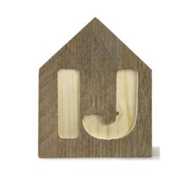 Letterhuisjes - Huisje IJ