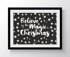 Believe in the magic of christmas (sterren)