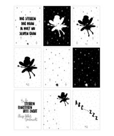 Kaartenslinger Prinses (set van 9 kaarten)