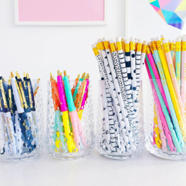 Studio Stationery - Super Awesome Pencil set (6 stuks)