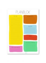 Studio Stationery - Planblok (a5)