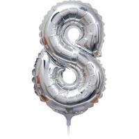 Folie Ballon cijfer 8