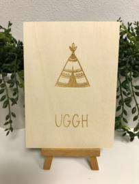 A6 | Houten kaart - Uggh