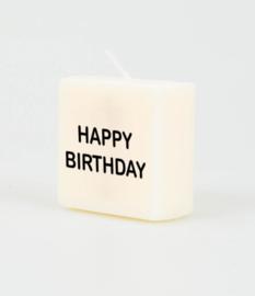 Letterkaars - Happy birthday