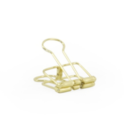 Binder clips Goud | 19 mm