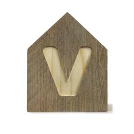 Letterhuisjes - Huisje V