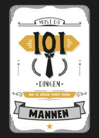 101 dingen die je moet doen (mannen)