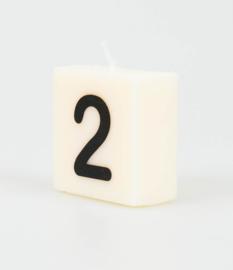 Letterkaars - 2 (cijfer)