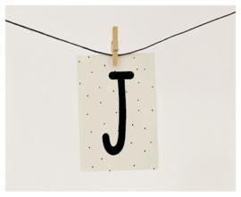 Naamslinger letter j