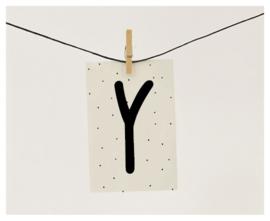 Naamslinger letter Y