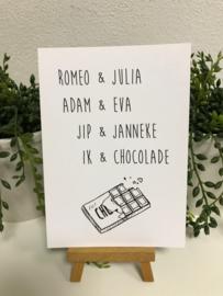 A6 | Ik en chocolade