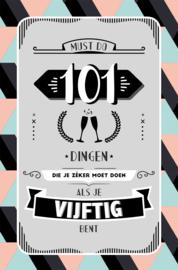 101 dingen die je moet doen (vijftig)