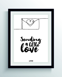 Sending a little love (one line)