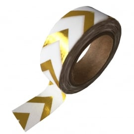 Masking tape Goud Pijl