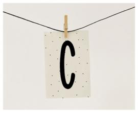 Naamslinger letter C