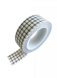 Masking tape grid