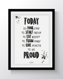 A6 - Today is your day to be Proud