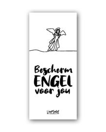 Kadolabel | Bescherm engel voor jou
