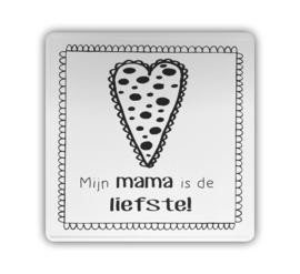 Kaart (blik) - Mijn mama is de liefste