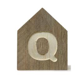 Letterhuisjes - Huisje Q