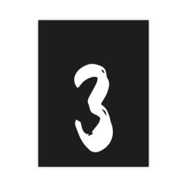 Letterslinger - cijfer 3