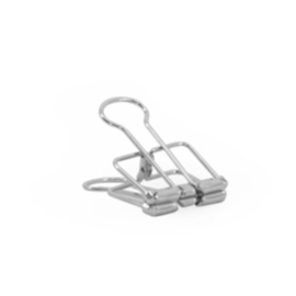 Binder clips Zilver | 19 mm
