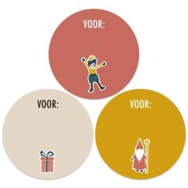 Sinterklaas voor: | 55mm Piet (rood)