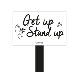 Plantensteker | Get up stand up