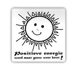 Kaart (blik) - Positieve energie