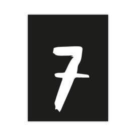 Letterslinger - cijfer 7