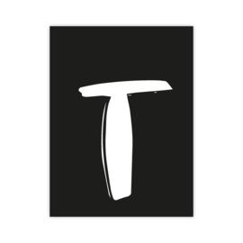 Letterslinger - letter T