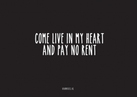 A6 | Come live in my heart