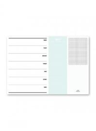 Studio stationery - Weekplanner A4