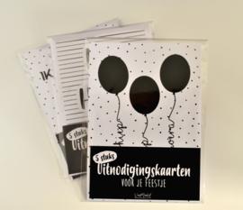 Ballonnen Feest (set van 5 kaarten)